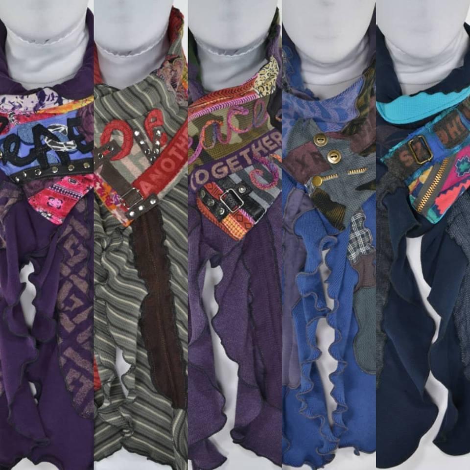 group word scarves